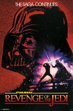 STAR WARS - REVENGE OF THE JEDI - MOVIE POSTER 24x36 - VADER 15499