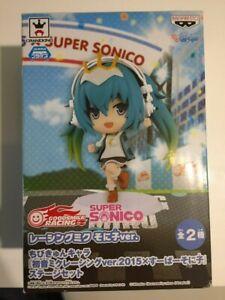 Chibikyun character Hatsune Miku racing ver.2015  Super Sonico new