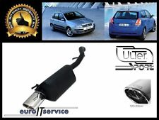 SILENCIEUX POT D'ECHAPPEMENT FIAT STILO HATCHBACK 2001-2005 2006 2007 TIP 120x80