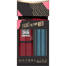Maybelline Paint The Town Red Lipstick & Nail Polish Gift Set