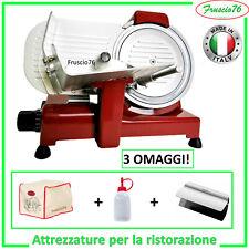 Affettatrice Elettrica Special Edition 25 RGV ROSSA + Copertura + Olio + Pinza
