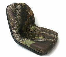 Camo HIGH BACK Seat for John Deere Gator UTV 4x2 6x4 Diesel Trail Worksite Turf