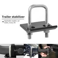 U-Bolt Heavy-Duty Anti-Rattle Stabilizer Hitch Lock Down 2 Clamp for Trailer RV