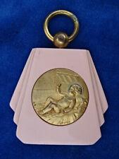TOP ! MEDAILLE BERCEAU ART DECO / Cradle medal - DROPSY - JESUS BEBE Baby