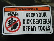 7. Warning Toolbox Sticker - mac - wrench - funny