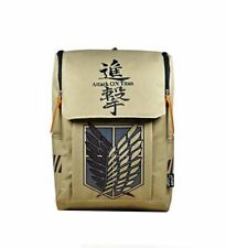 Attack On Titan Canvas Backpack Anime Rucksack Laptop Bag NEW US seller