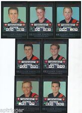 "2001 Teamcoach Silver ESSENDON Team Set (7 Cards) "" """