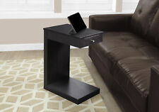 Monarch Specialities Accent Table - Cappuccino With A Drawer (I-3190)