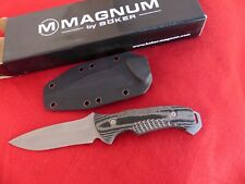 Boker Magnum Highlands Ranger fixed blade Knife NIB