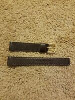 17mm B Seiko Genuine Leather Watch Band