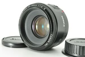 """ Near Mint "" Canon EF 50mm F/1.8 II AF Standard Prime Lens Tested From Japan"