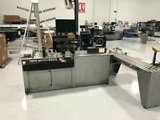 New listing Kirk-Rudy 215-V Belt Driven Shuttle Feed W-Ink Jet System Dryer and Tabber