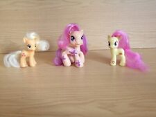 My Little Pony: Apple Jack G4, Pursey Pink G4, Scootaloo G3.5 preowned