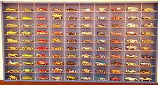 Model Car Display 1:64 & 1:72, Hot Wheels, Matchbox, Biante, Tomica (BLUE )