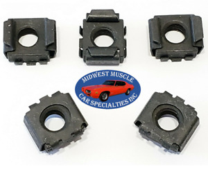 GM GMC 5/16-18 Body Fender Door Trunk Radiator Support Square Cage Nut 5pcs TO