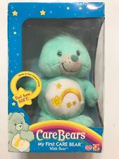 2004 my first care bear super soft musical chime wish bear