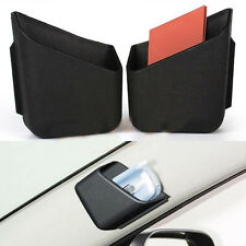 2x Car Organizer Storage Box Truck Pillar Car Cigarette Phone Sunglasses Holder