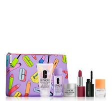 Clinique Skincare Smart Night, Happy Perfume 7 Pcs Gift Set
