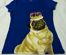 Girls Tee Shirt Sz XS 5 Crown Dog Old Navy