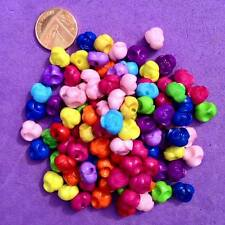 200 X Mixed Spacer Beads Key Rings Craft Jewellery Making Pony Bead