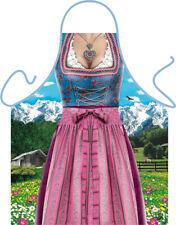 Bayern Tracht Frau Schürze Grillschürze Kochschürze Oktoberfest Spass Gaudi