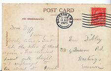 Genealogy Postcard - Ancestor History - Dibley - Hastings - Sussex    U3824