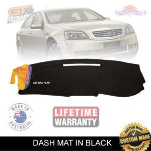 Dash mat Holden WM Statesman - Caprice 07/2006-05/2013 AIR-BAG DM1038 BLACK