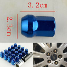 Car Anti-theft Wheel Nuts M12x1.5  For Toyota Honda Ford Mazda alloy steel BLUE