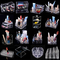 Makeup case Clear drawers Cosmetic Organizer Jewelry storage Acrylic cabinet Box
