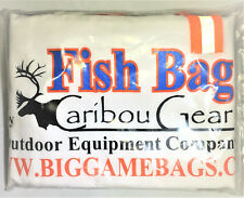 """(Lot of 2) Chinook Salmon Trophy Fish Bag, 20"""" x40"""" - By Caribou Gear"""