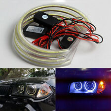 4Pcs 131MM LED COB Angel Eye Halo Light for BMW E39 E38 E36 E46 3 5 7 series