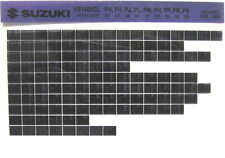 Suzuki VS1400 GL Intruder 87 88 89 90 91 92 93 94 95 Parts Microfiche s464