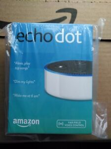 New Amazon Echo Dot 2nd Generation w/ Alexa Voice Media Device White + FREE SHIP