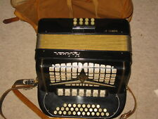 "Very nice  Hohner "" NORMA IV""  button Accordian accordion C/F"