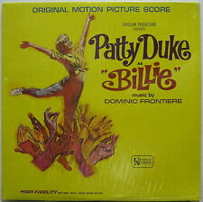 PATTY DUKE As BILLE 1965 Soundtrack SEALED Mono LP BEAUTIFUL! Dominic Frontiere