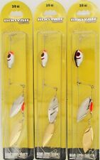(3) Booyah Bait Company 3/8 Oz Boo Spin Rig Willow Alpine BYBSRW38685