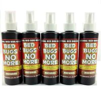 5 Bed Bugs No More Natural Insect Killer bedbugs 8oz Pump Spray