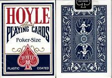 Hoyle Standard Blue Deck Playing Cards Poker Size USPCC Plastic Coated Sealed