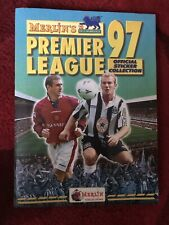 Merlin's Premier League 97 Sticker Album - 100% Complete - vgc