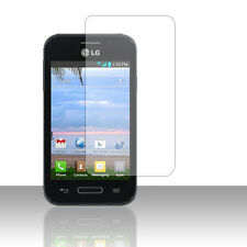For Lg Optimus Fuel L34C LCD Screen Protector Guard with Cleaning Cloth