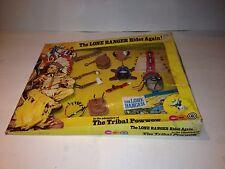 Vintage Marx Toys The Lone Ranger The Tribal Powwow Set 1970's