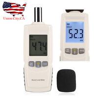 LCD Digital Sound Noise Tester Pressure Level Meter Decibel Measurement 30-130db