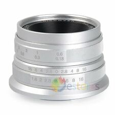 25mm F1.8 HD DISCOVER Wide Angle Lens For Olympus Panasonic M4/3 Camera【UK】