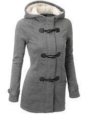 Women's Warm Coat Jacket Tops Outwear Trench Winter Hooded Long Parka Overcoat