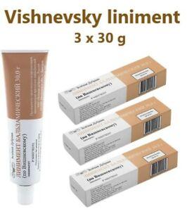 Balsamic liniment (according to Vishnevsky), Vishnevsky ointment 3 psc x 30 gr