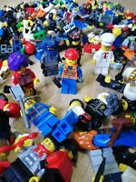 X30 LEGO MINIFIGURES - MIXED SURPRISE PACKS WITH HATS & HAIR + ACCESSORIES!