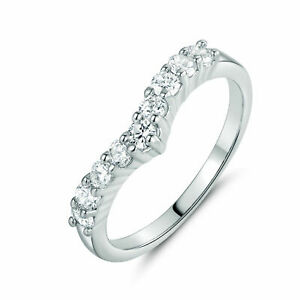 9 Diamond Eternity Ring in 925 Sterling Silver with 0.18 Ct Round diamond G VS2