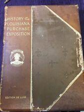 History of the Louisiana Purchase Expo. *World's Fair *Fleur de Lis visible*
