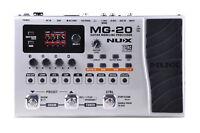 NuX MG-20 - Guitar Modeling Processor with Drum Machine Looper