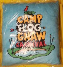 Camp flog gnaw Pillow